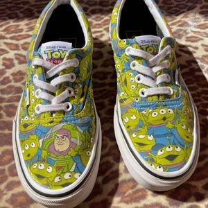 Disney Aliens toy story woody vans shoes